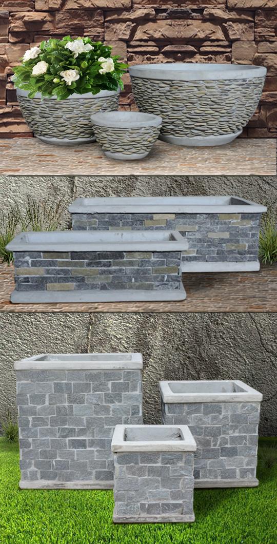 SlateStone Pots